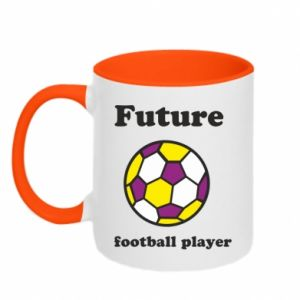 Two-toned mug Future football player - PrintSalon