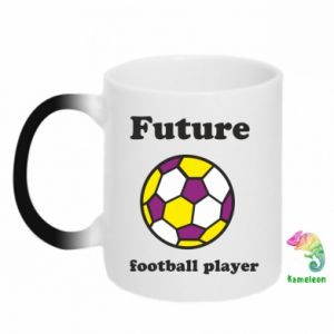 Chameleon mugs Future football player - PrintSalon