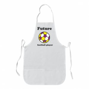 Apron Future football player - PrintSalon