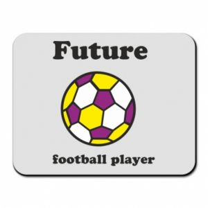 Mouse pad Future football player - PrintSalon