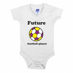 Baby bodysuit Future football player - PrintSalon