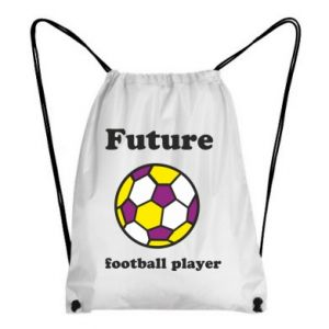 Backpack-bag Future football player - PrintSalon