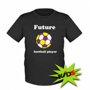 Kids T-shirt Future football player - PrintSalon