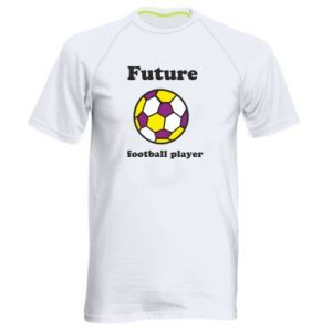 Men's sports t-shirt Future football player - PrintSalon