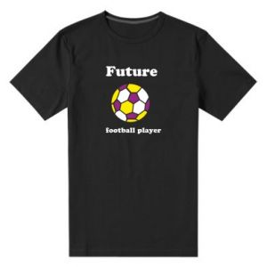 Men's premium t-shirt Future football player - PrintSalon