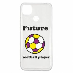 Etui na Xiaomi Redmi 9c Future football player