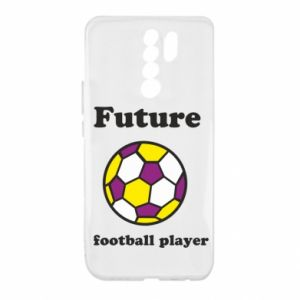 Etui na Xiaomi Redmi 9 Future football player