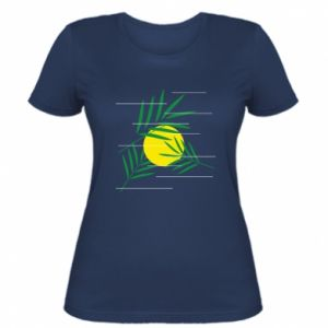 Women's t-shirt Palm branches