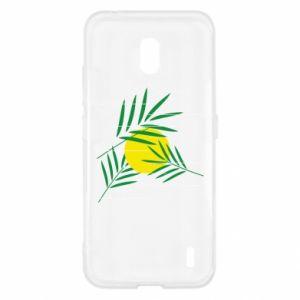 Etui na Nokia 2.2 Gałązki palmowe