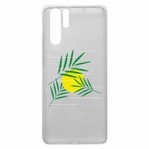 Etui na Huawei P30 Pro Gałązki palmowe
