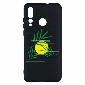 Etui na Huawei Nova 4 Gałązki palmowe