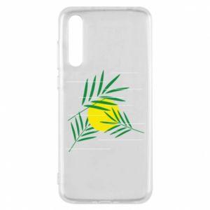 Etui na Huawei P20 Pro Gałązki palmowe
