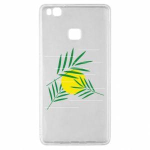 Etui na Huawei P9 Lite Gałązki palmowe
