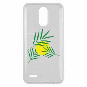 Etui na Lg K10 2017 Gałązki palmowe