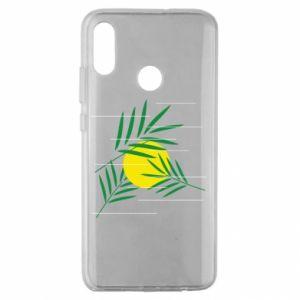 Etui na Huawei Honor 10 Lite Gałązki palmowe