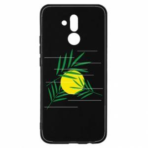 Etui na Huawei Mate 20 Lite Gałązki palmowe