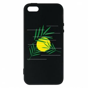 Phone case for iPhone 5/5S/SE Palm branches