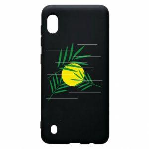 Etui na Samsung A10 Gałązki palmowe