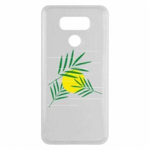 Etui na LG G6 Gałązki palmowe