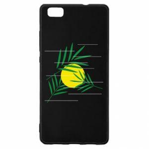 Etui na Huawei P 8 Lite Gałązki palmowe