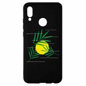 Etui na Huawei P Smart 2019 Gałązki palmowe