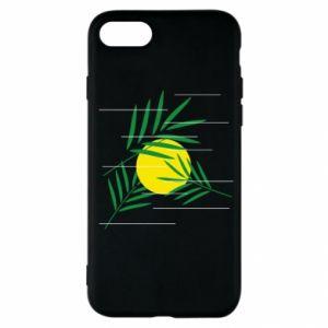 Etui na iPhone SE 2020 Gałązki palmowe