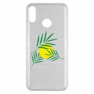 Etui na Huawei Y9 2019 Gałązki palmowe