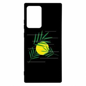 Etui na Samsung Note 20 Ultra Gałązki palmowe