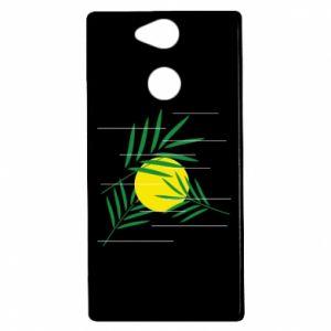 Etui na Sony Xperia XA2 Gałązki palmowe