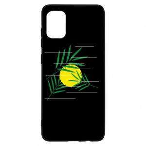 Etui na Samsung A31 Gałązki palmowe