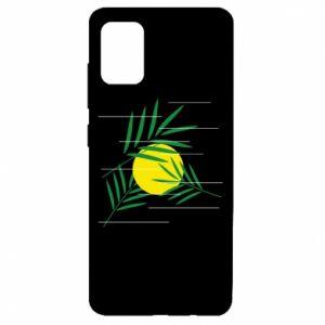 Etui na Samsung A51 Gałązki palmowe