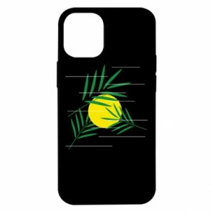 Etui na iPhone 12 Mini Gałązki palmowe