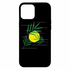 Etui na iPhone 12 Pro Max Gałązki palmowe