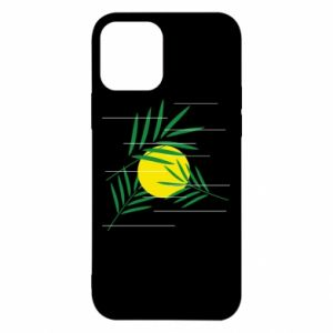 Etui na iPhone 12/12 Pro Gałązki palmowe