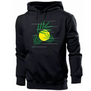 Men's hoodie Palm branches
