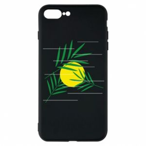 Phone case for iPhone 8 Plus Palm branches