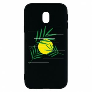 Phone case for Samsung J3 2017 Palm branches