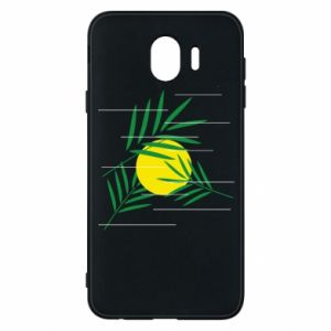 Phone case for Samsung J4 Palm branches