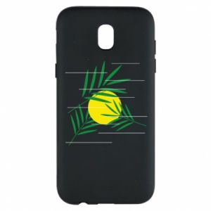 Phone case for Samsung J5 2017 Palm branches