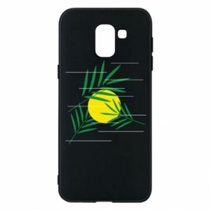 Phone case for Samsung J6 Palm branches