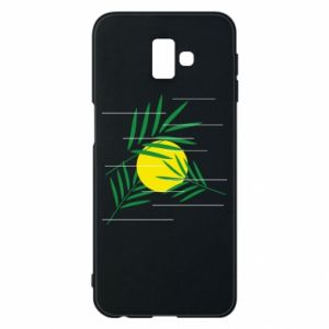 Phone case for Samsung J6 Plus 2018 Palm branches