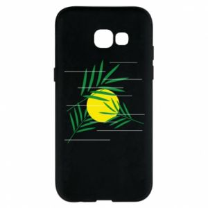 Phone case for Samsung A5 2017 Palm branches