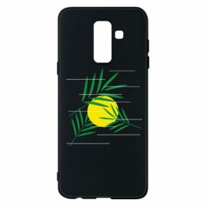 Phone case for Samsung A6+ 2018 Palm branches