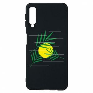 Phone case for Samsung A7 2018 Palm branches