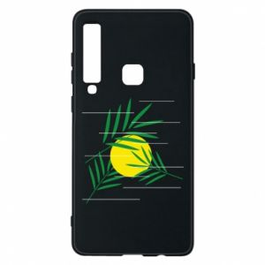 Phone case for Samsung A9 2018 Palm branches