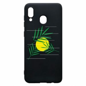 Phone case for Samsung A20 Palm branches