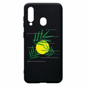 Phone case for Samsung A60 Palm branches