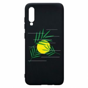 Phone case for Samsung A70 Palm branches