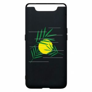Phone case for Samsung A80 Palm branches