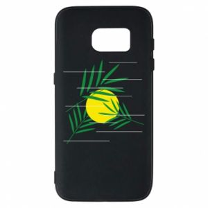 Phone case for Samsung S7 Palm branches